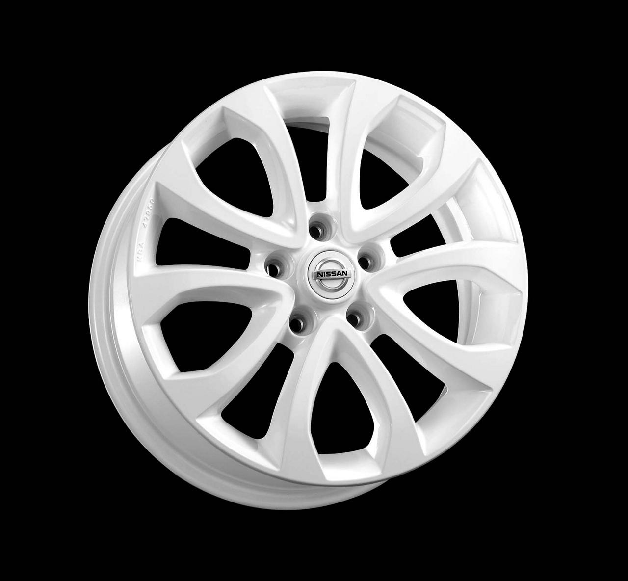 KE4091K200W1 Диск колеса литой F15E R17х6.5J (белый)