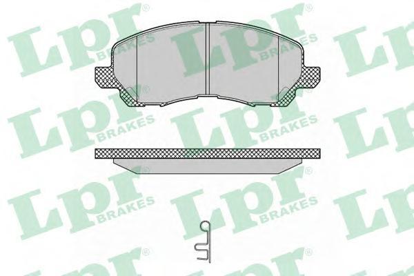 05P1347 Колодки тормозные MITSUBISHI ASX/LANCER/OUTLANDER/DODGE CALIBER передние