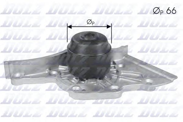 A275 Насос водяной AUDI A8/AVANT/quattro (4D) 3.7i V8 32v 07/95-99, S6/S8 4.2i V8 32v 97-