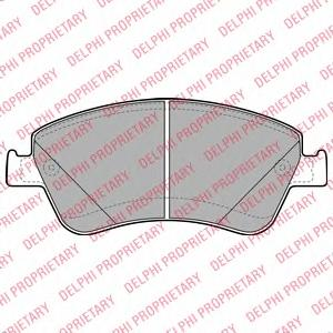 LP2102 Колодки тормозные TOYOTA AURIS 1.33-2.2 07- (Великобритания) передние