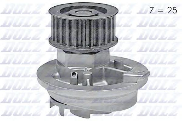 O138 Насос водяной Opel Astra/Omega/Vectra 1.8i-2.2i/1.7D/TD 16V 92-00