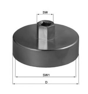 Ключ-съемник масляного фильтра цепной Heavy Duty Sparta 528205