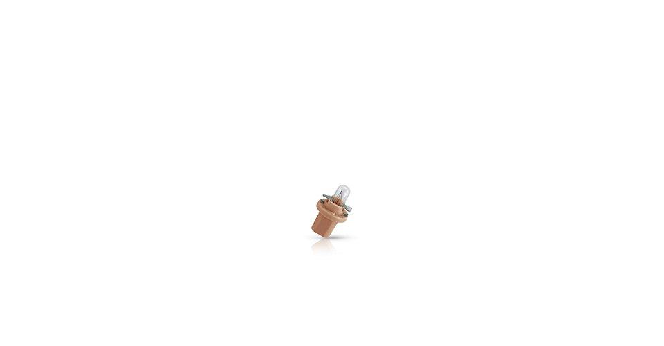 12637CP Лампа накаливания 10шт в упаковке 12V 1,5W B8,5D BEIGE (бежевая)