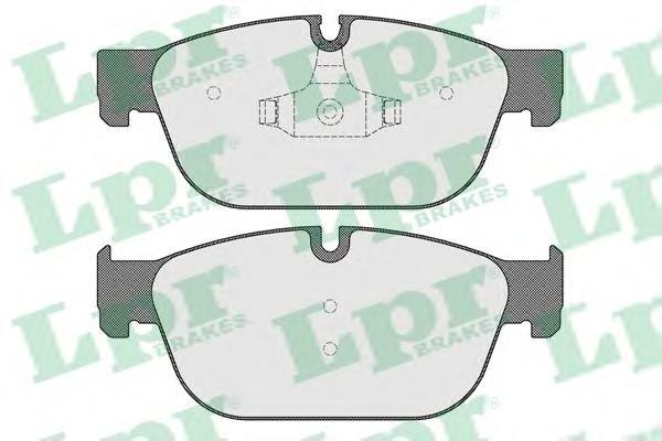 05P1561 Колодки тормозные CITROEN C5/DS4/PEUGEOT 308/407 передние с датч.