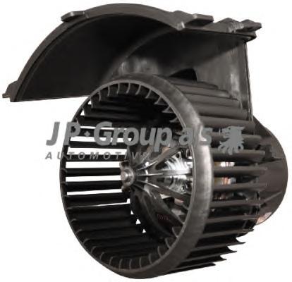 1126102200 Мотор отопителя салона с крыльчаткой / VW T5 03~