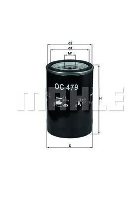 OC479 Фильтр масляный FORD MAVERICK 2.0 02-/MAZDA CX/TRIBUTE