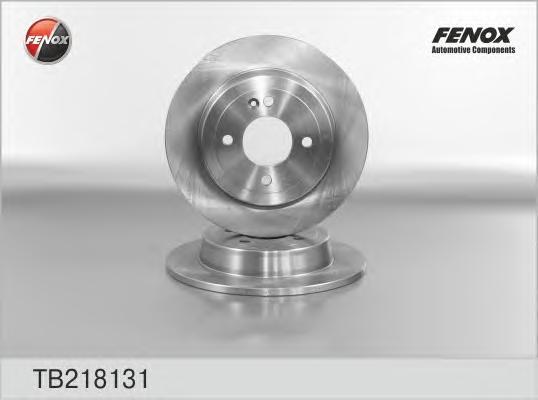 TB218131 Диск тормозной HYUNDAI SOLARIS 10-/KIA RIO III 11- задний