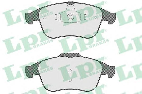 05P1534 Колодки тормозные RENAULT LATITUDE 11-/MEGANE 08-/SCENIC 09- передние