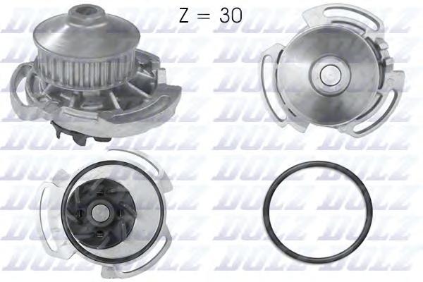 A164 Насос водяной Seat Ibiza/Cordoba 1.0-1.6i 83-