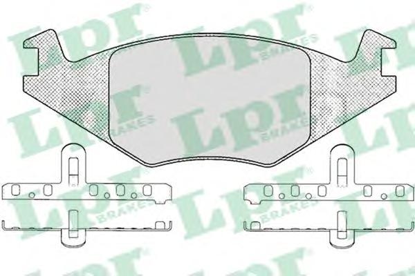 05P223 Колодки тормозные VOLKSWAGEN G1/G2 1.3/POLO 8794 передние