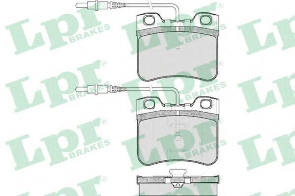 05P283 Колодки тормозные CITROEN AX 1.0-1.5 86-98 передние