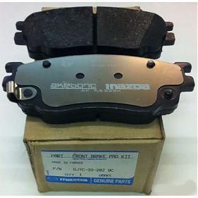 GJYC3328Z9C Колодки тормозные дисковые передние Мазда6 2002