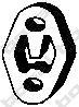 255064 Подвеска глушителя FORD MONDEO 1.6-2.0/S-MAX 2.0 06-