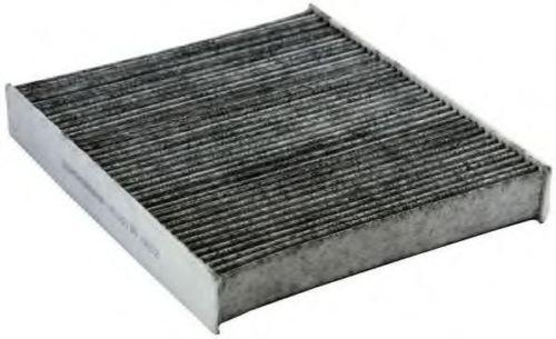 1713182 Фильтр вентиляции салона-дезодорирующий повышенной очистки / FORD Focus-II,VOLVO C-30,S-40,V-50,C-70 04~