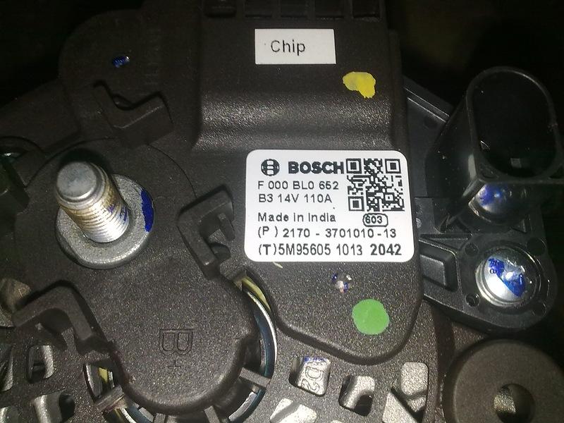 F000BL0652 Генератор ВАЗ 110A