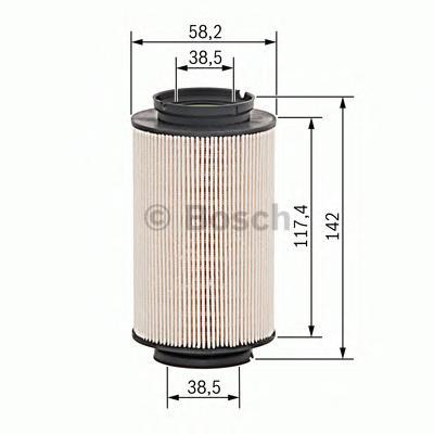 1457070007 Фильтр топливный VAG A3/G5/TOURAN 1.9/2.0 TDI/SDI