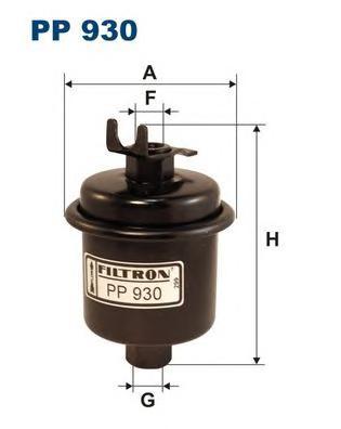 PP930 Фильтр топливный HONDA ACCORD 1.8-2.2i/CIVIC 96-