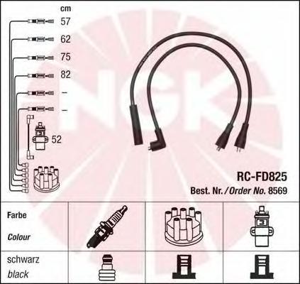 8569 Провода в/в FORD