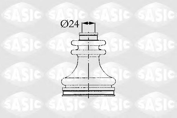 4003425 Пыльник ШРУС внутр прав МЕГ (LAOF LAOG) R19 B53B