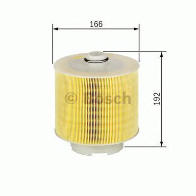 F026400198 Фильтр воздушный AUDI A6 2.4/3.2/4.2 04-