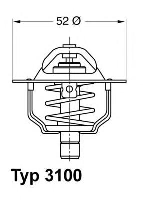 310088D Термостат FORD TRANSIT 2.0 94-06