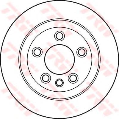 DF4487S Диск тормозной AUDI Q7/VW TOUAREG/PORSCHE CAYENNE задний вент.