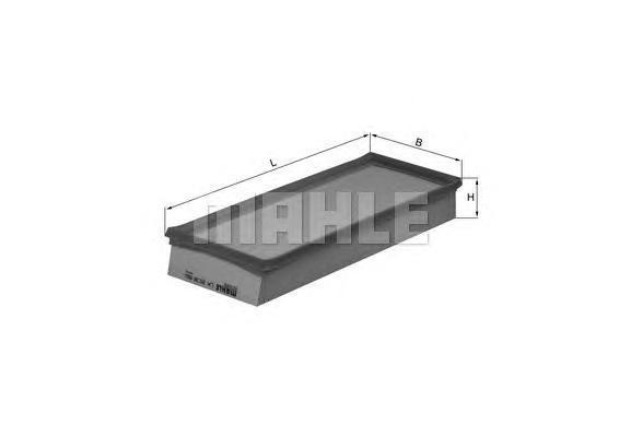LX2038 Фильтр воздушный BMW MINI COOPER 1.6 06-