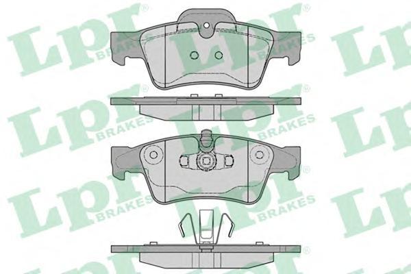 05P1254 Колодки тормозные MERCEDES-BENZ W164 ML 05/W251 R-CLASS 06 задние