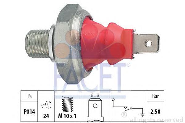 70111 Датчик давления масла AUDI: 100 (4A, C4) 2.6/2.6 quattro/2.6 E quattro/2.8 E/2.8 E quattro 90-94, 100 Avant (4A, C4) 2.6/2