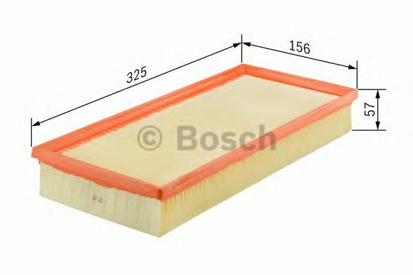 1457432200 Фильтр воздушный PEUGEOT 406/607 2.0D/2.2D/3.0D 98-