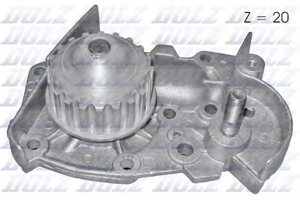 R124 Насос водяной Renault Clio/R19 1.2/1.4/1.4i 88-98