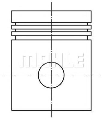 0120200 Поршень ДВС Opel Vectra 1.8 16V X18XE  =80.5 1.2x1.2x2 std 98
