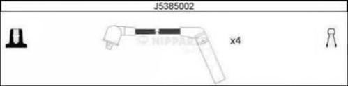 J5385002 Провода в/в MITSUBISHI LANCER/COLT/GALANT