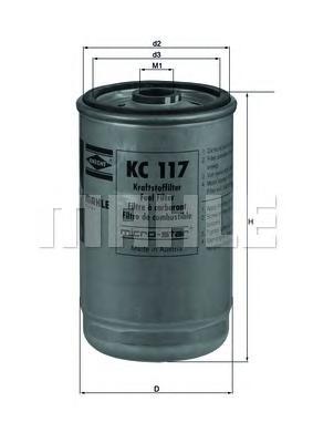 KC117 Фильтр топливный DAF TRUCKS