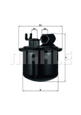 KL183 Фильтр топливный ROVER 200/400/H0NDA