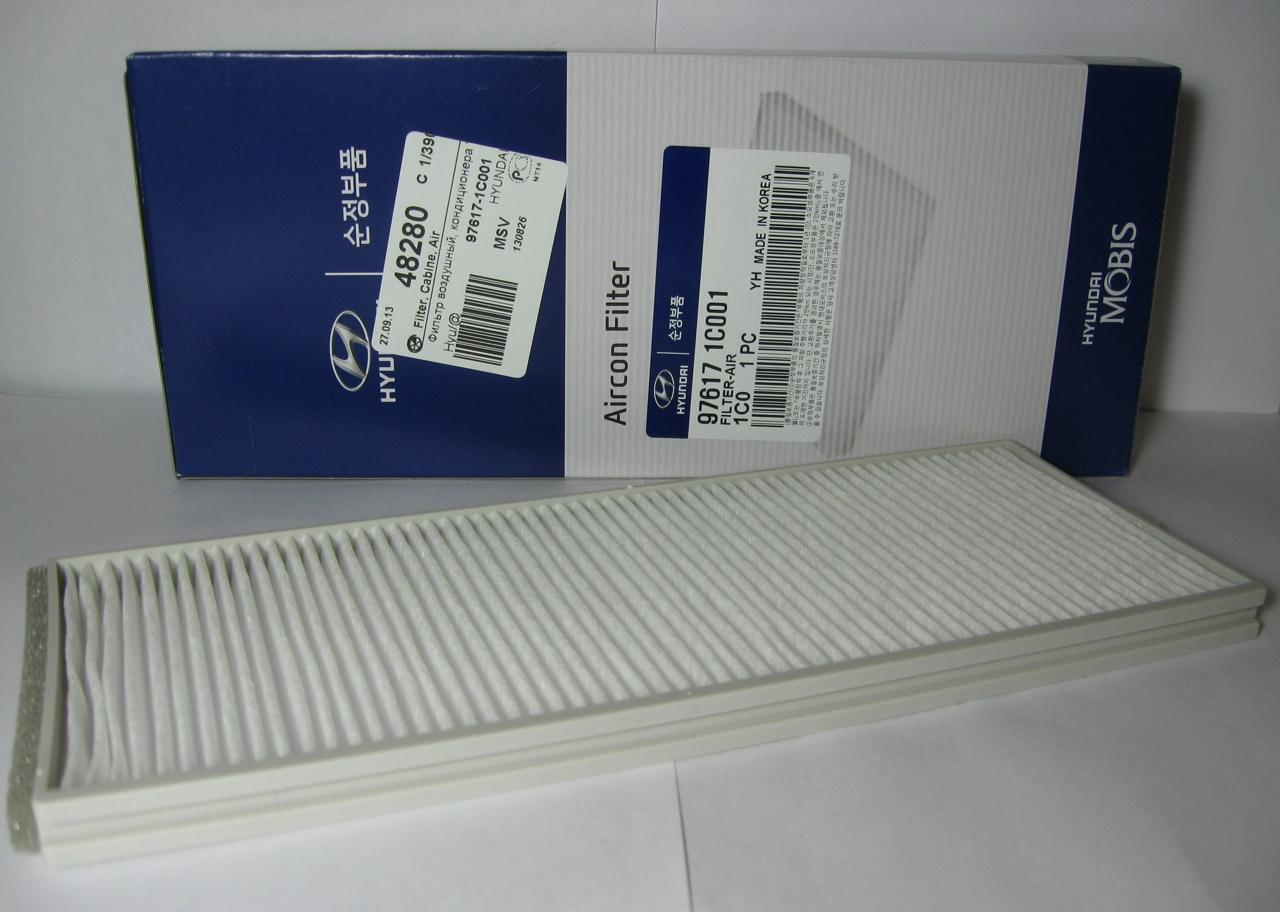 976171C001 Фильтр отопителя (составной) ГЕТЦ/ВЕРНА