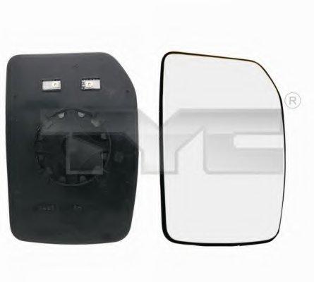 PMG1244G03 Стекло зеркала лев выпукл, с подогр  FORD: TRANSIT - 00-06