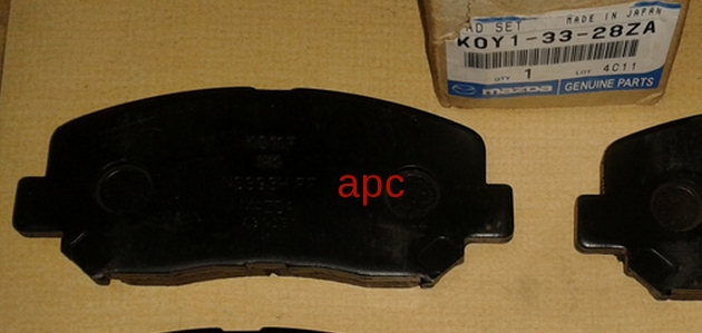 K0Y13328ZA Колодки тормозные передние Мазда СХ-5