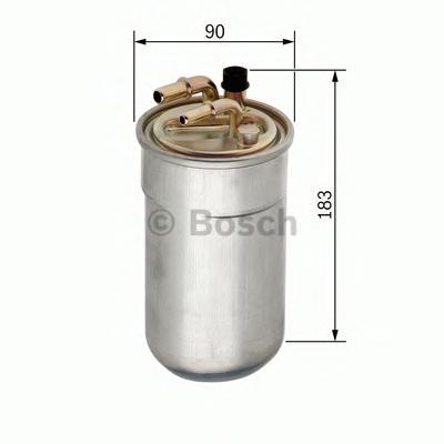 F026402051 Фильтр топливный OPEL 1.3 CDTI