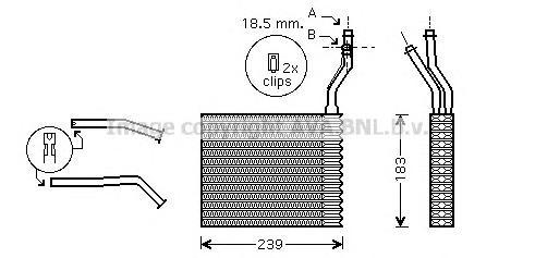 FDA6364 Радиатор отопителя FORD: C-MAX 1.6/1.6 TDCI/1.8/1.8 FLEXIFUEL/1.8 TDCI/2.0/2.0 CNG/2.0 LPG/2.0 TDCI 07-, FOCUS C-MAX 1.6