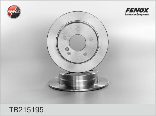 TB215195 Деталь TB215195 Диск тоpмозной Mersedes