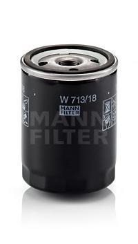 W71318 Фильтр масляный CADILLAC/CHEVROLET/OPEL