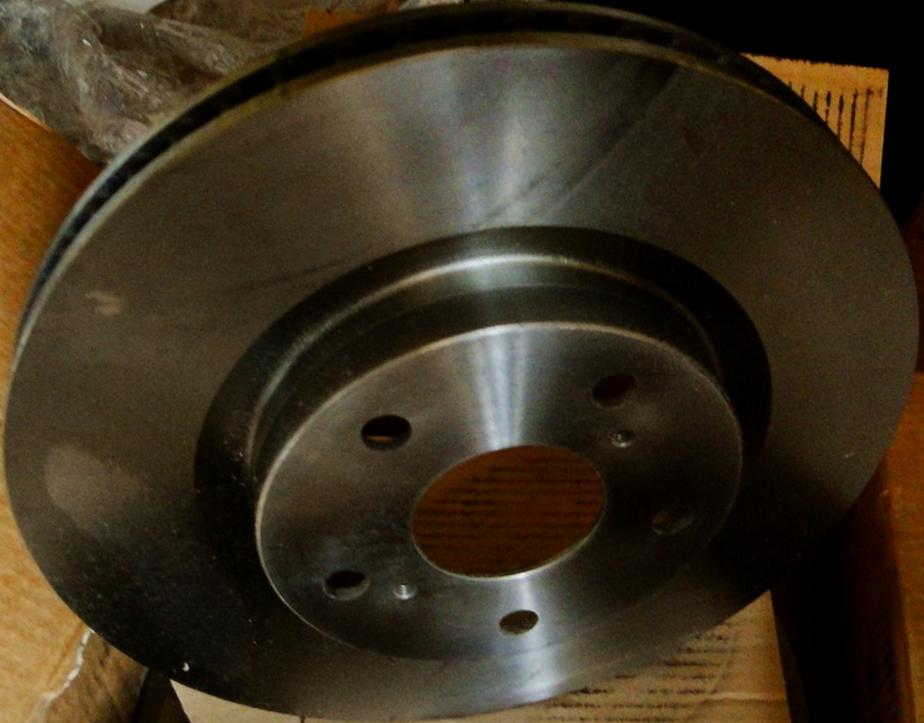 09A41710 Диск тормозной TOYOTA CAMRY (V40) 06-11/RAV 4 05- передний вент.D=296мм.