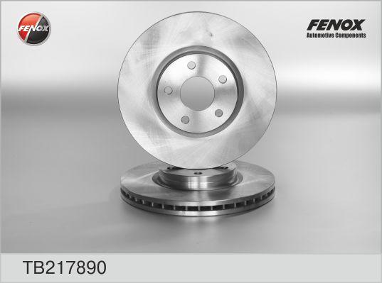 TB217890 Диск тормозной FORD MONDEO IV 07- d=13.7мм передний
