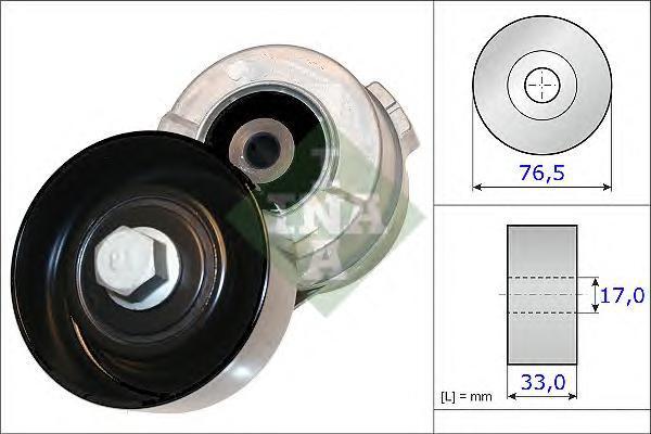 534034110 Натяжитель ремня приводного KIA SORENTO 2.5CRDI 02-/HYUNDAI H-1/STAREX 01-