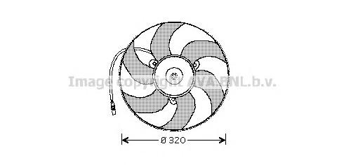 pe7513 Вентилятор охлаждения радиатора