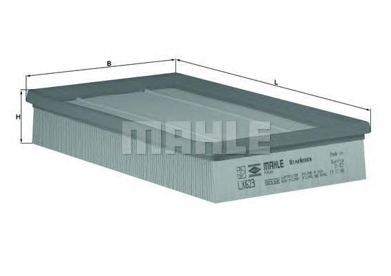 LX623 Фильтр воздушный MB W201 2.3 85-88