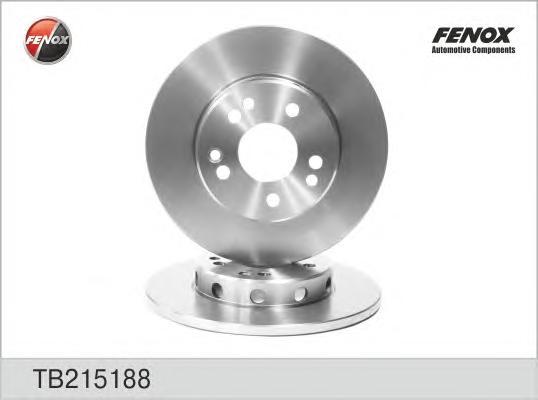 TB215188 Диск тормозной MERCEDES W124 200-300 84-93 передний D=284мм.