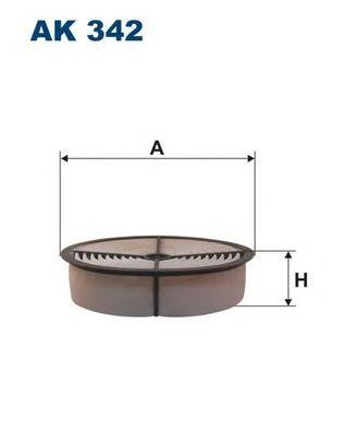 ak342 Воздушный фильтр