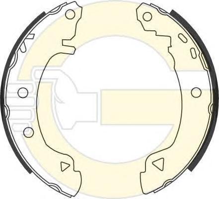 5186313 Колодки торм.бар.ALFA ROMEO 145/146/FIAT BRAVA/BRAVO/MAREA/PUNTO 88-01 (203x39)